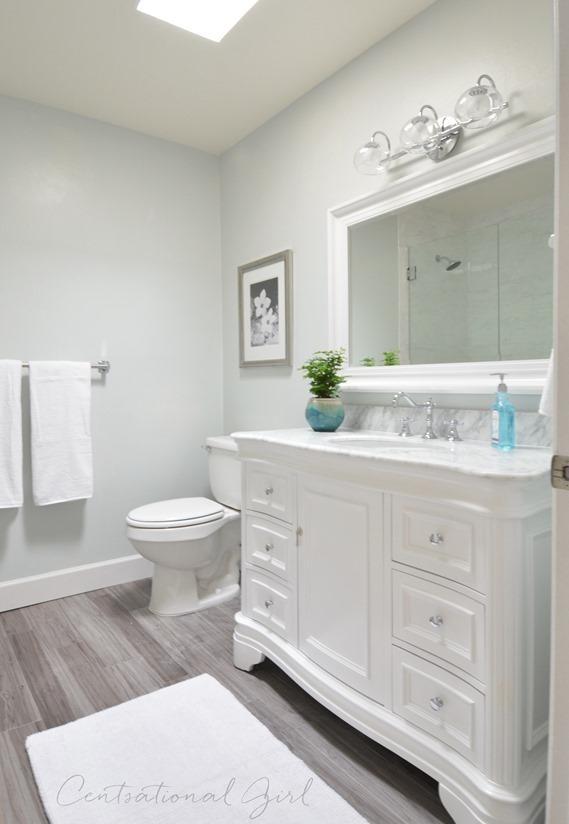 Bathroom remodel complete centsational style - Images of bathroom remodels ...