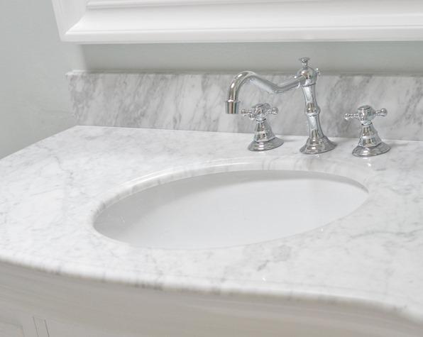Fabulous marble top vanity