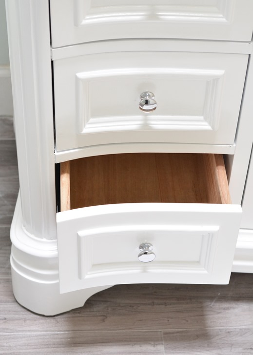 vanity pull out drawers