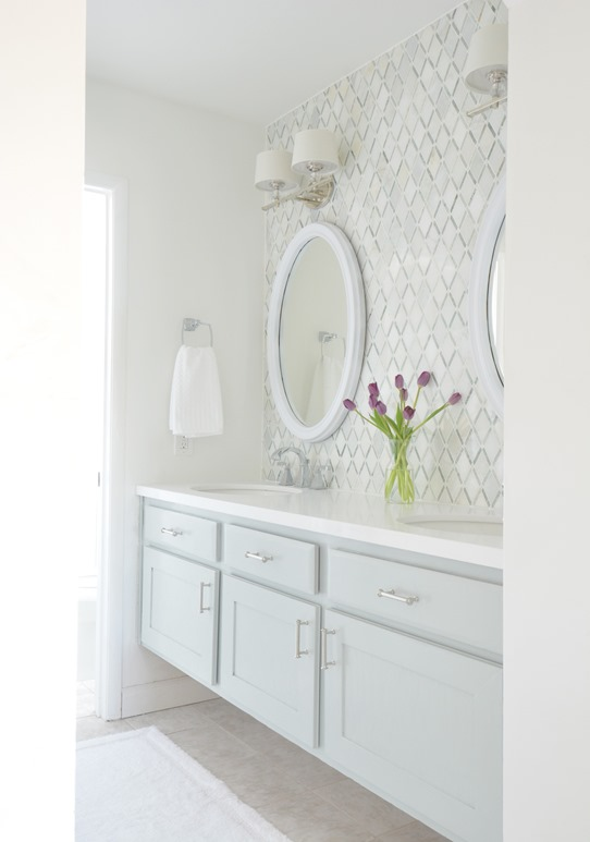 master bath vanity entrance