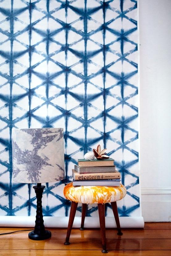 shibori wallpaper