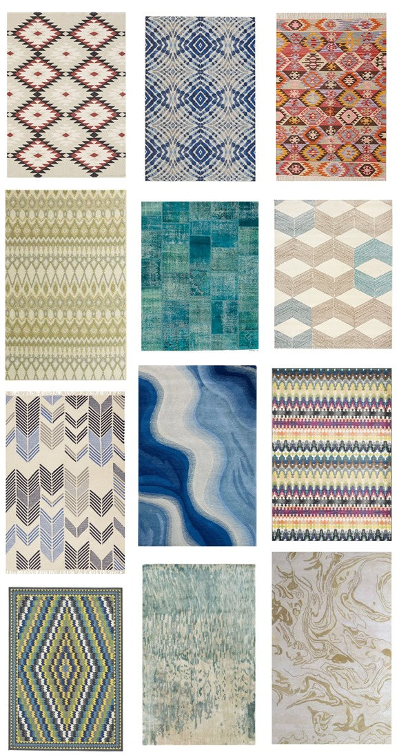 on trend rugs