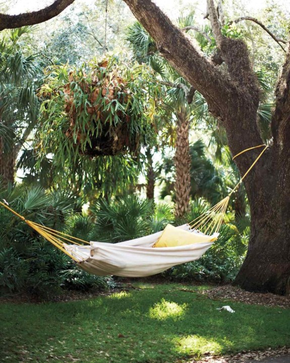 drop cloth hammock