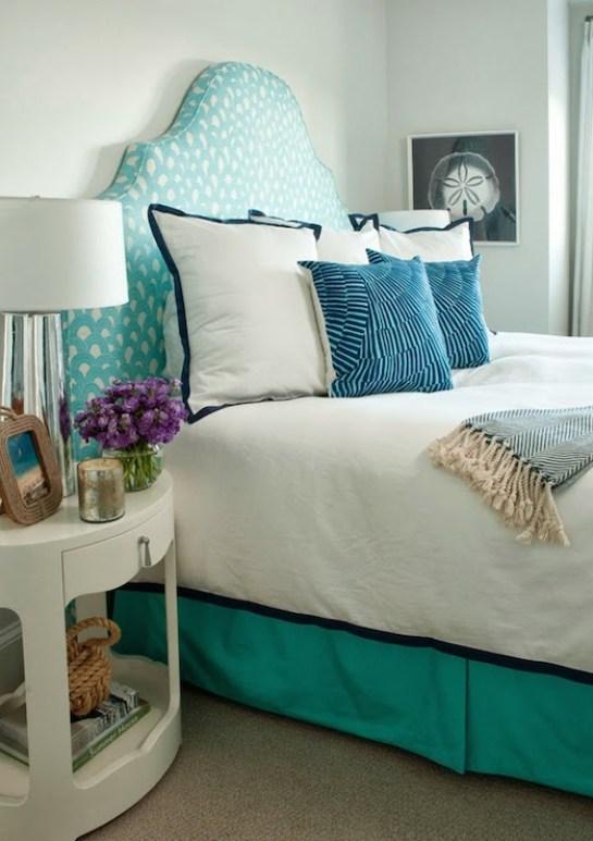 patrones de color azul y blanco en capas