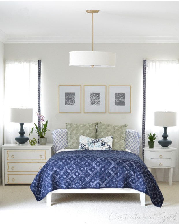 navy quilt white furnishings