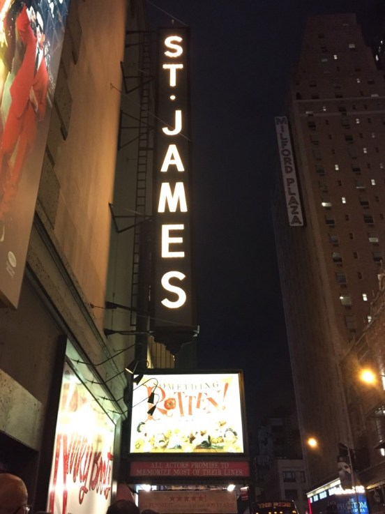 st james theater