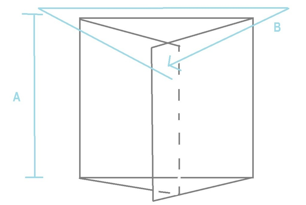 envelope pillow shape