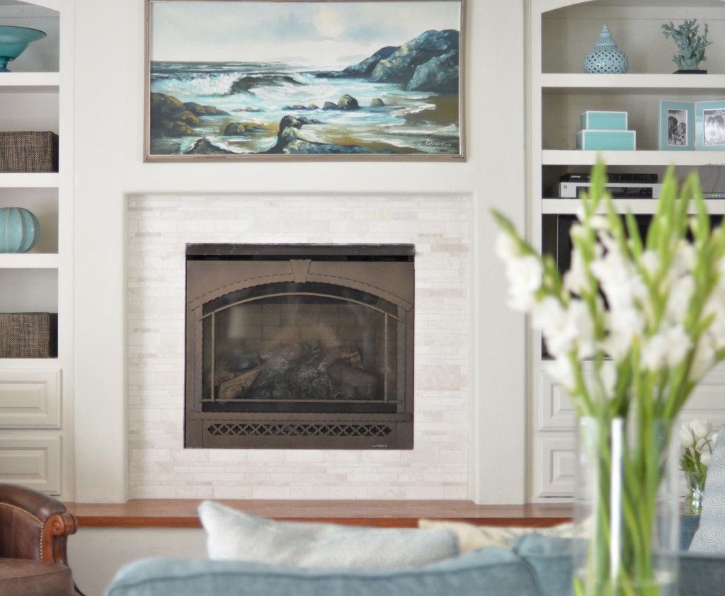 Fireplace Makeover Tile Giveaway