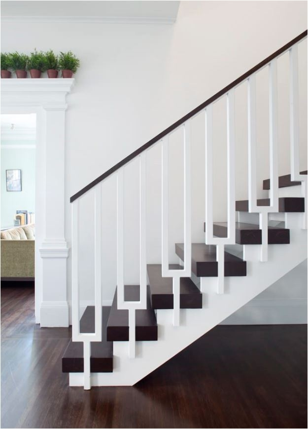 Stunning Stair Railings Centsational Style | Bannister Rails For Stairs | Pipe | Build Stair | Deck | Outdoor | 5 Step