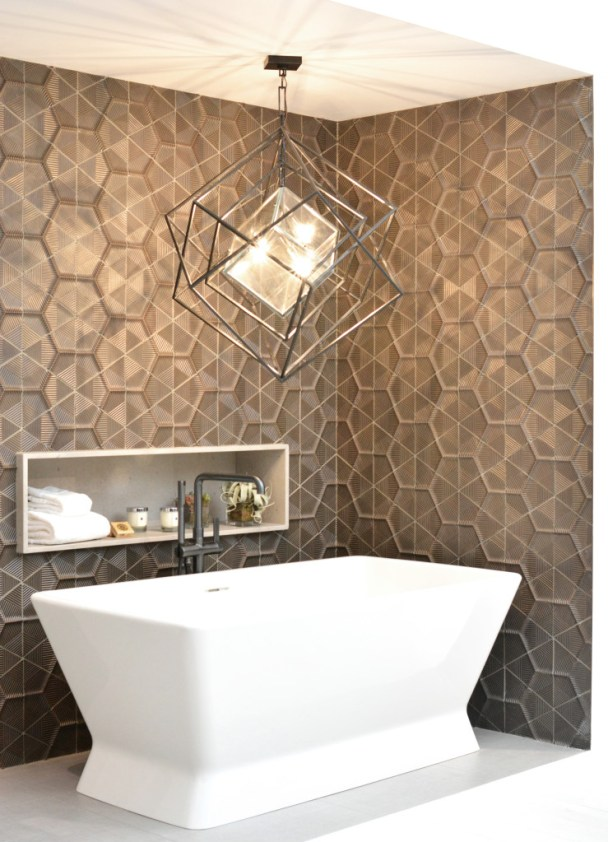geometric pattern tile