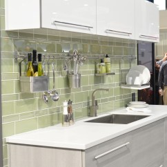 Green Kitchen Backsplash White Quartz Countertops And Bath Trends 2016 Centsational Girl Bloglovin