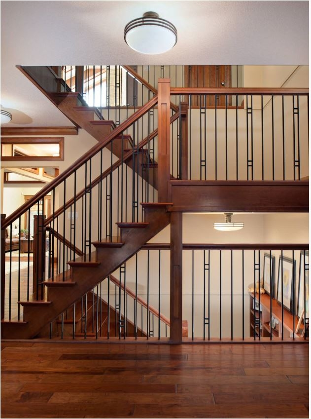Stunning Stair Railings Centsational Style   Modern Banisters And Railings