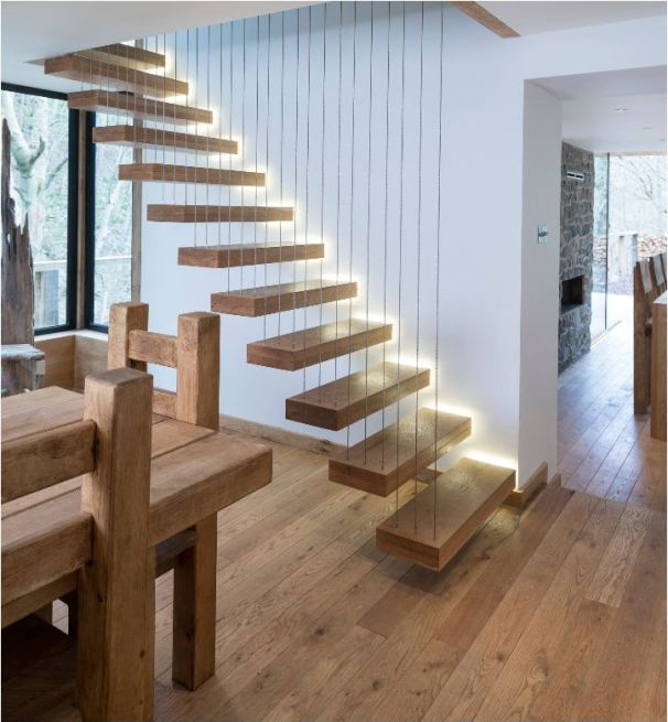 vertical wire balustrade