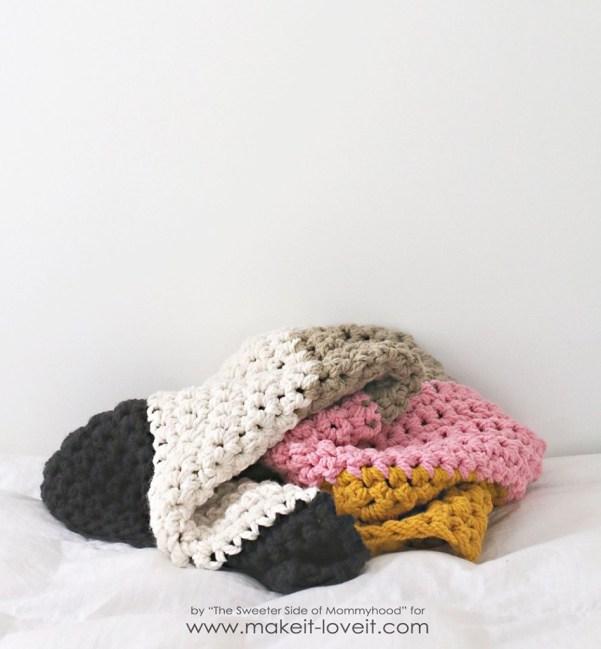 beginner crochet blanket