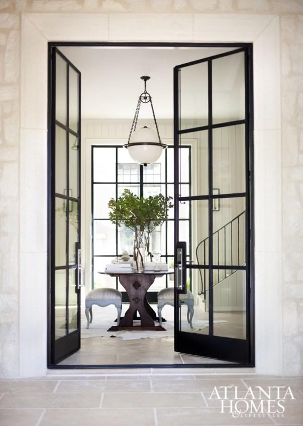 Design Crush Black Windows Glass Doors Centsational Style