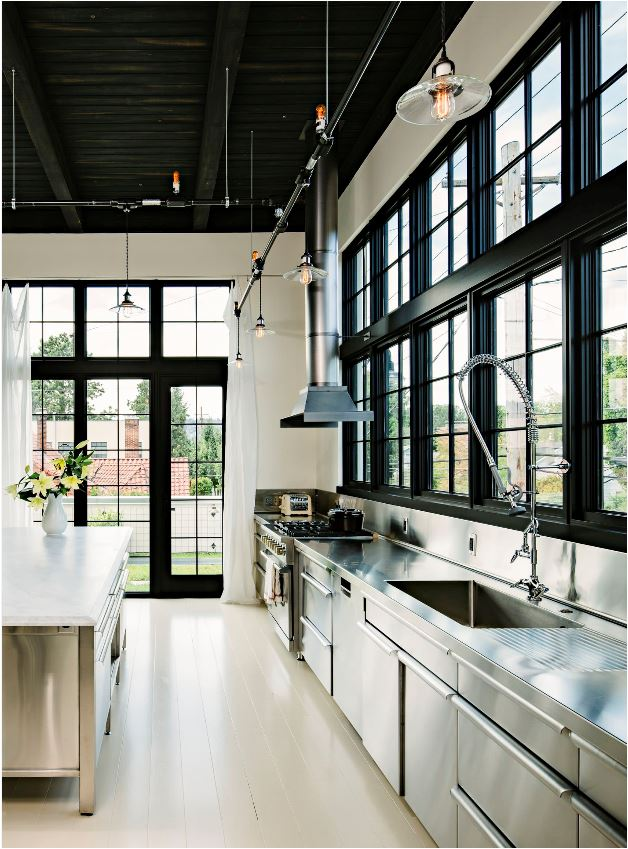 Design Crush: Black Windows & Glass Doors