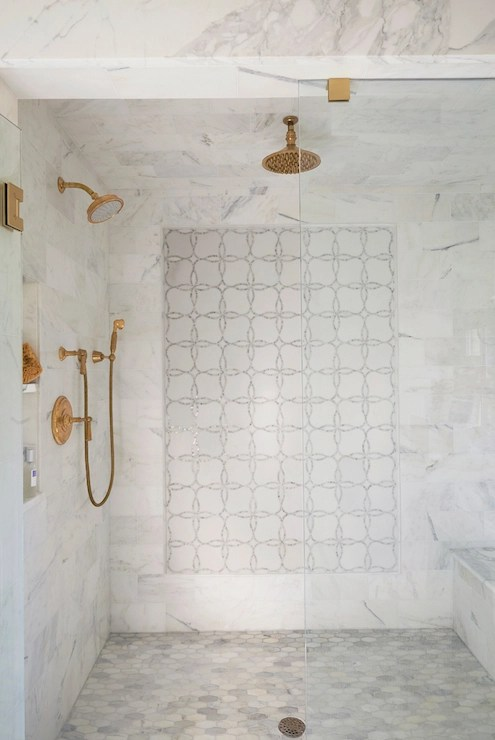 feature pattern shower tile