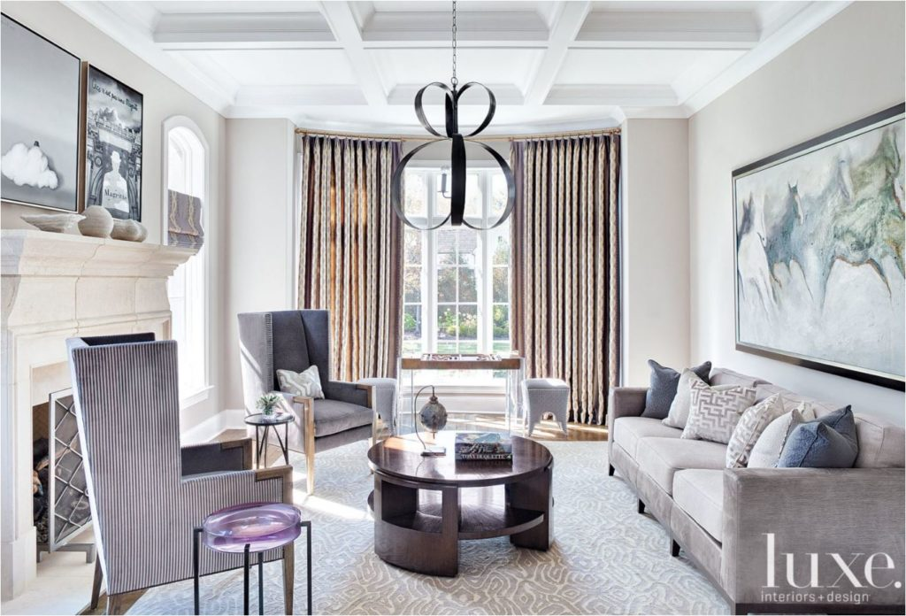 Don't be neutral on the subject of color. Plum And Grey Living Room - Modern House