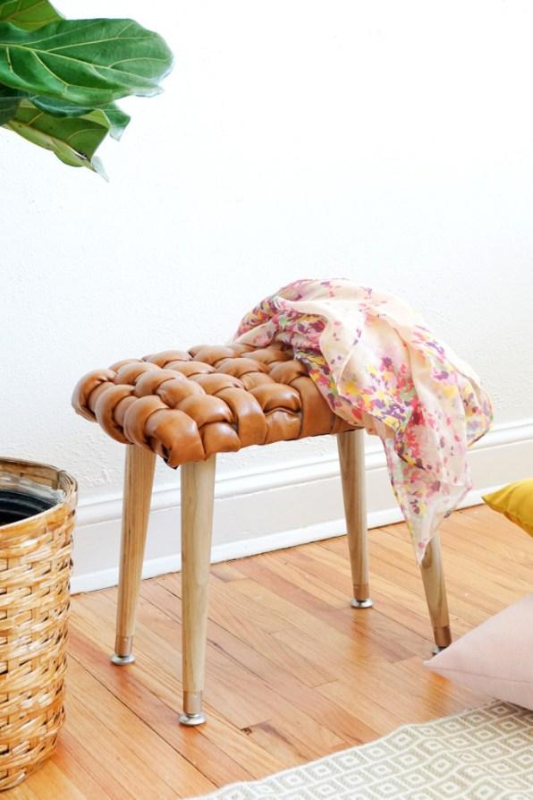 woven stool diy