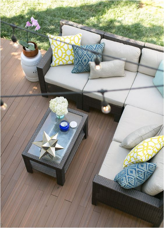 deck flooring concrete patio
