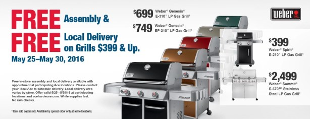 weber grill ad