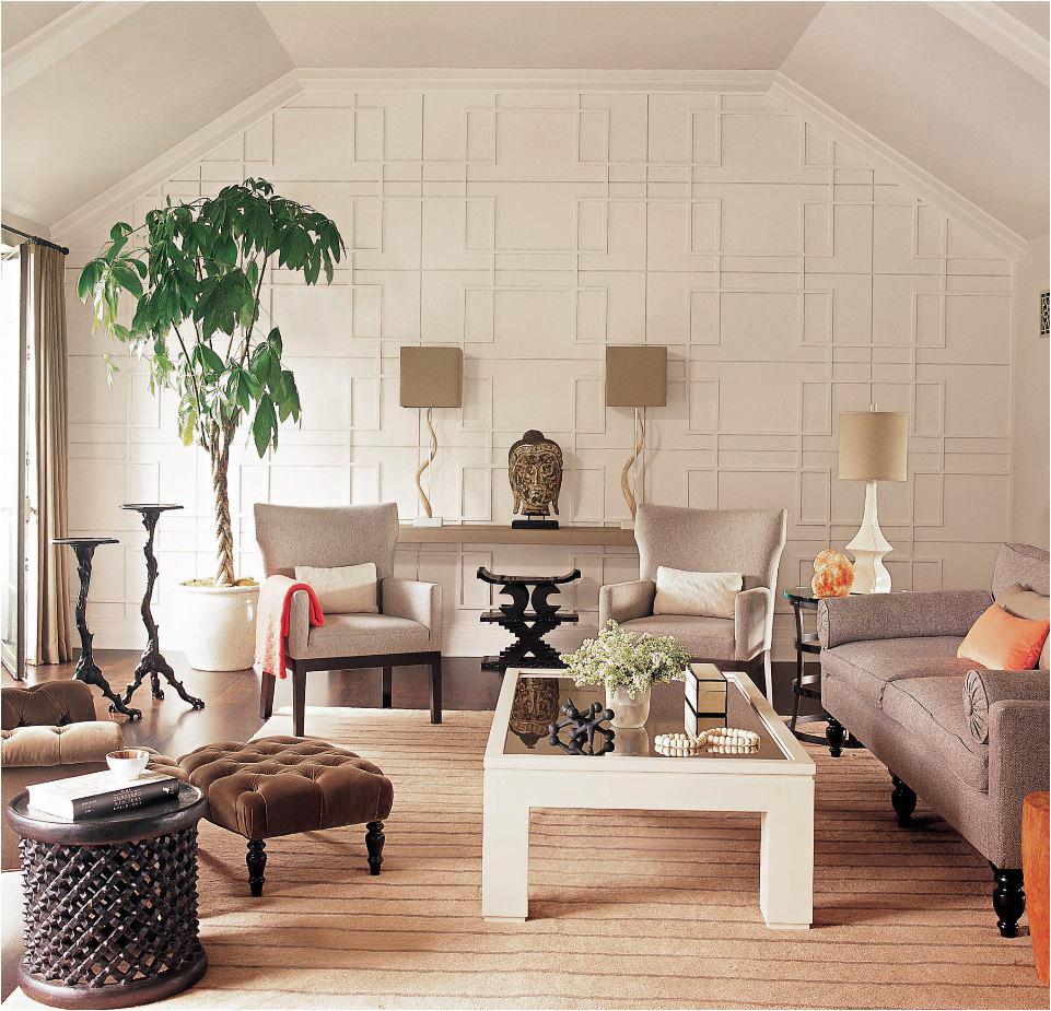 geometric wall treatment