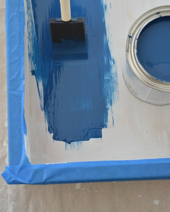 blue gloss paint