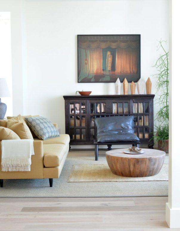 butter hue sofa