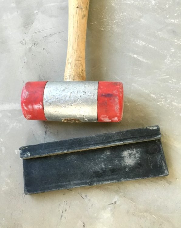 mallet and wedge