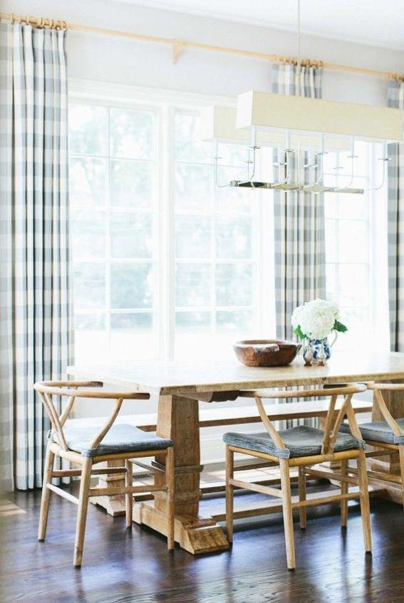 wishbone chairs dining room 2