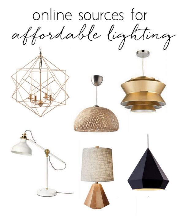online sources affordable lighting