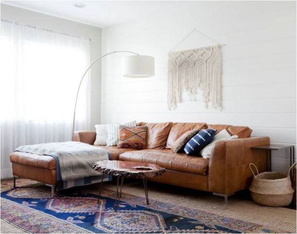 leather-sectional