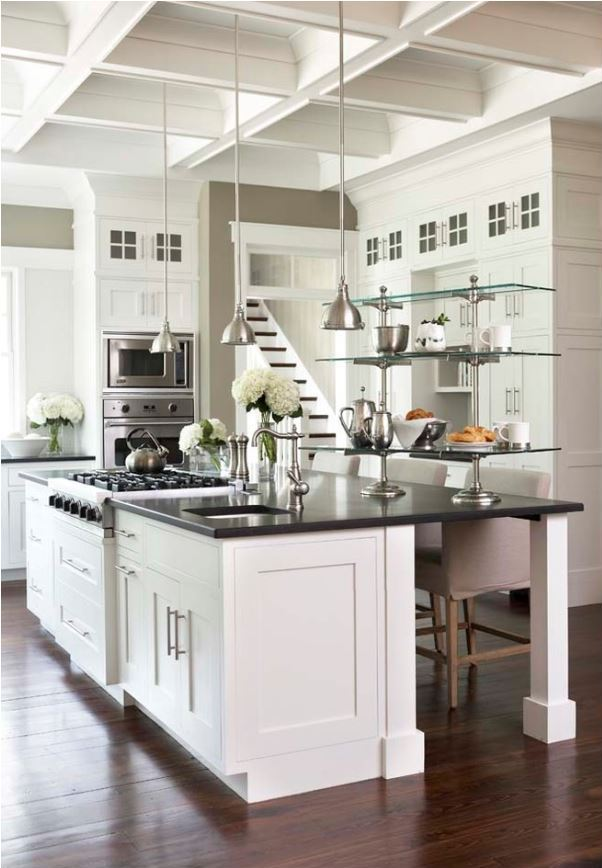 black-countertops-white-kitchen