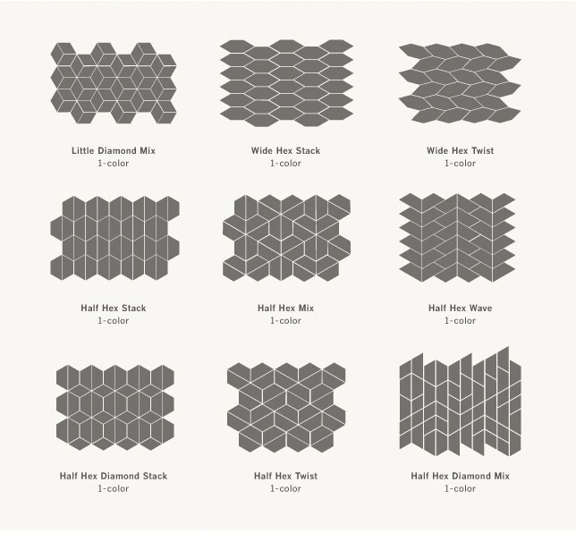 if youu0027re still a fan of the basic white subway tile and love that classic shape stick with it but consider the different patterns you can create with it