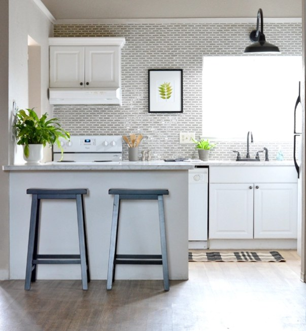 budget kitchen makeover centsational style