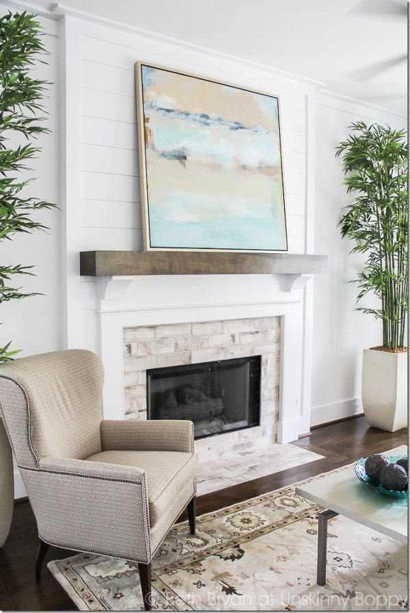 8 Ways To Style A Mantel With Art Centsational Style