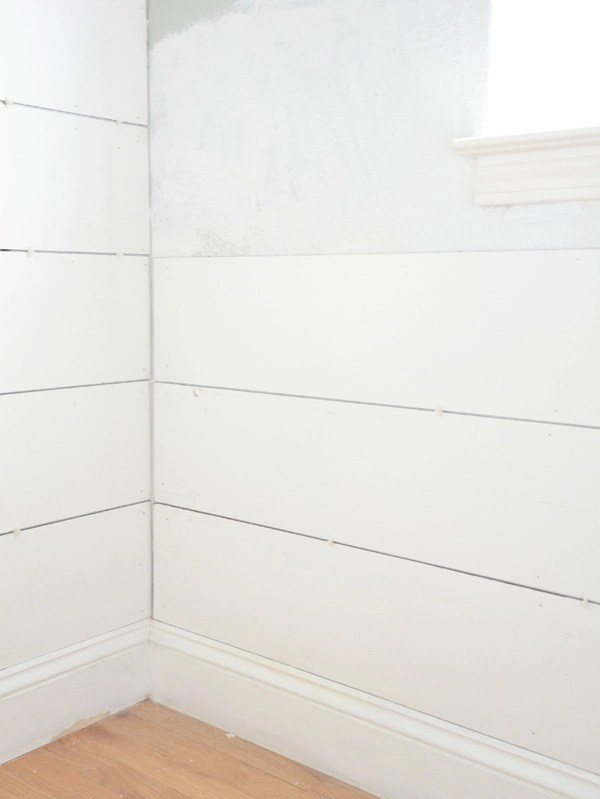 Cheap Amp Easy Diy Shiplap Centsational Style