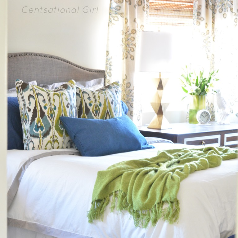 Best Finished Master Bedroom Fabric Giveaway