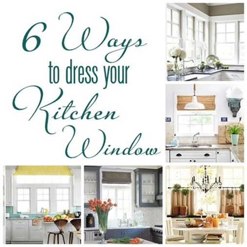 6 ways to dress a kitchen window
