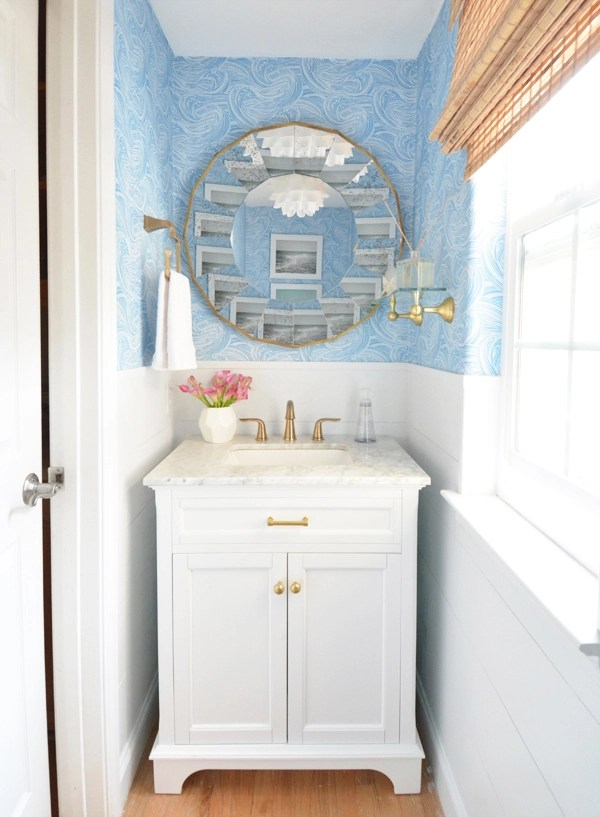 Powder Room Refresh Centsational Style