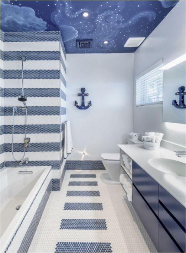 Stripes In The Shower Centsational Style