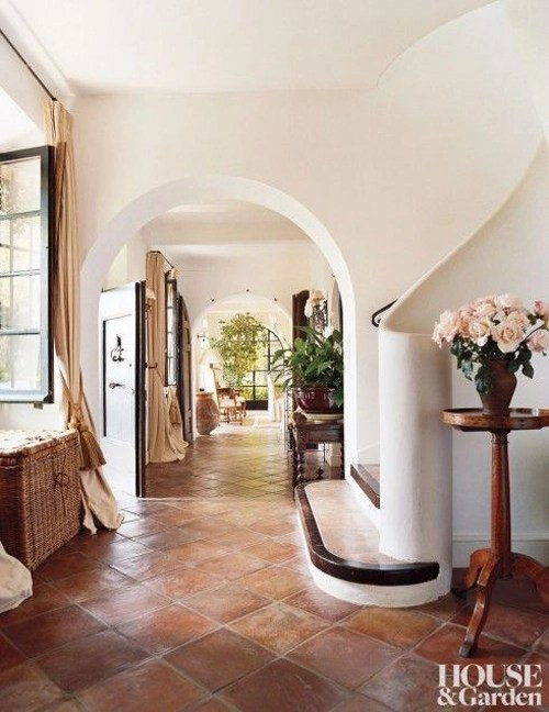 terra cotta floors centsational style