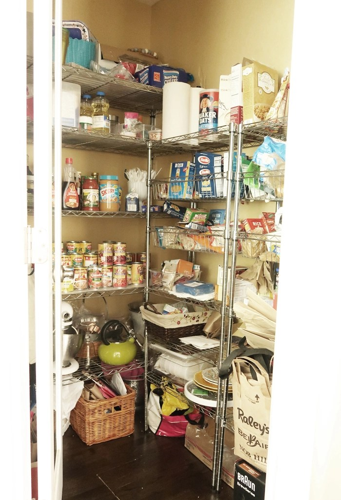 Diy Pantry Shelves Centsational Style