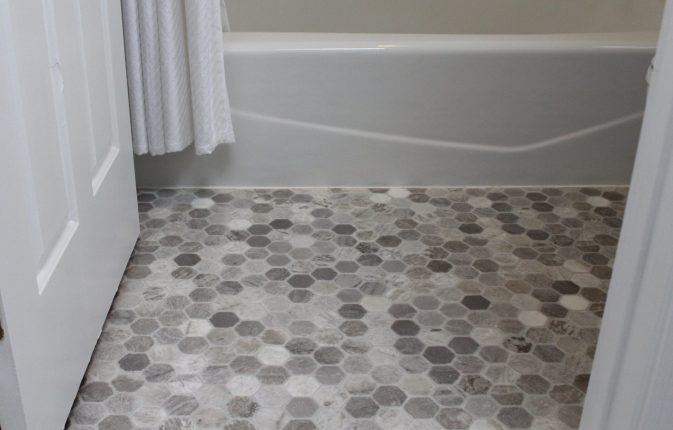 Five Reasons to Choose Tarkett Vinyl Flooring for Your Bathroom CentsibleChateau.com