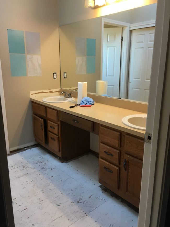 How To Remodel Your Master Bathroom On A Budget Centsible Chateau