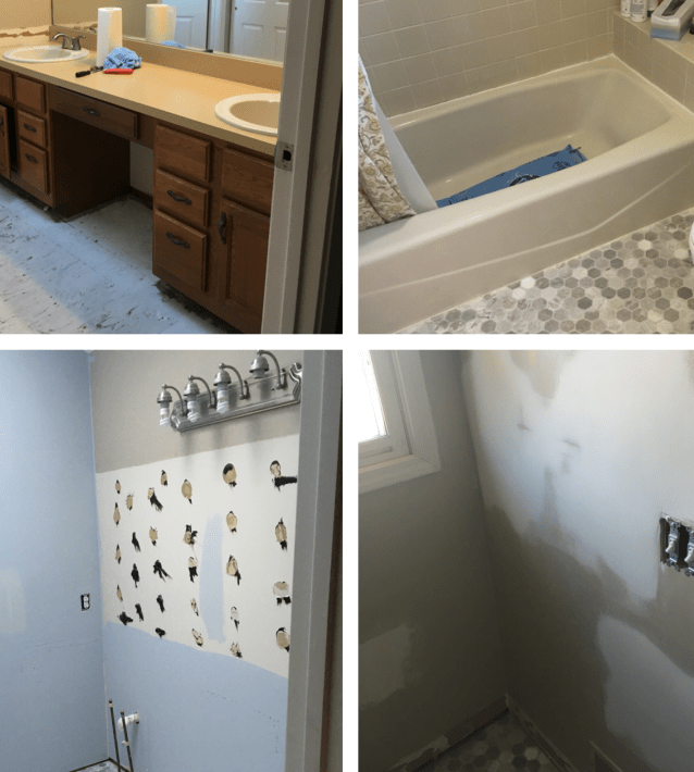 How To Remodel Your Master Bathroom On A Budget Centsible Chateau - Renovate your bathroom on a budget
