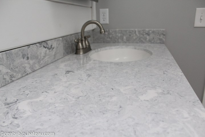 How To Order A Lowe S Custom Vanity Top On A Budget Centsible Chateau