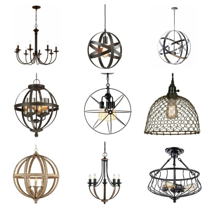 Fixer Upper Inspired Farmhouse Lighting CentsibleChateau.com