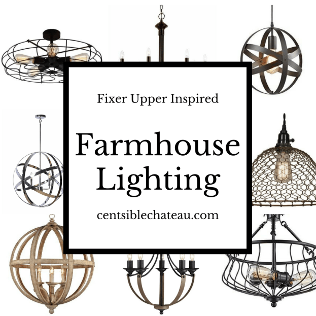 farmhouse lighting centsiblechateau.com