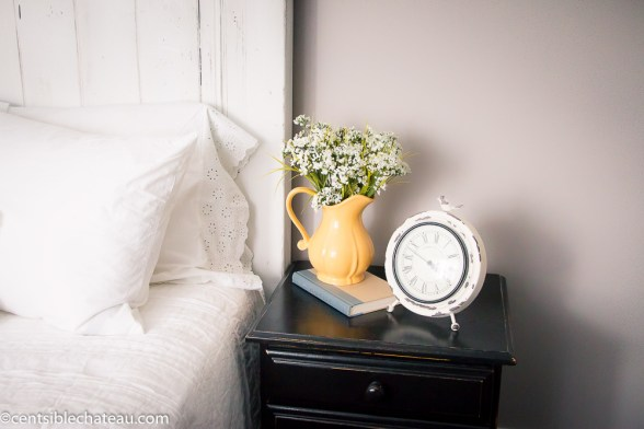 How to Build a Farmhouse Style Headboard- Printable Instructions